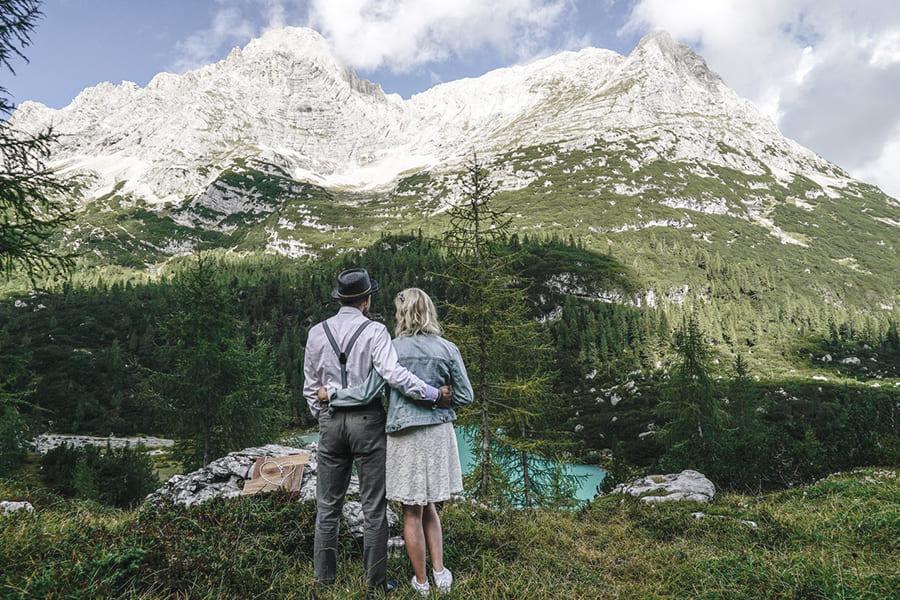 Hochzeit in den Bergen